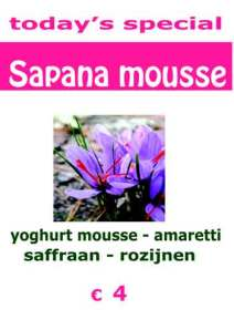 Sapana-mousse